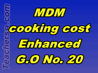 MDM New Rates from 1.4.2018 - MDM Rates Enhanced G.O.No.20