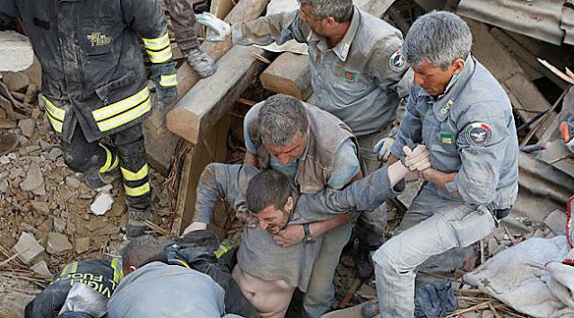 Decenas de muertos terremoto Italia magnitud 6