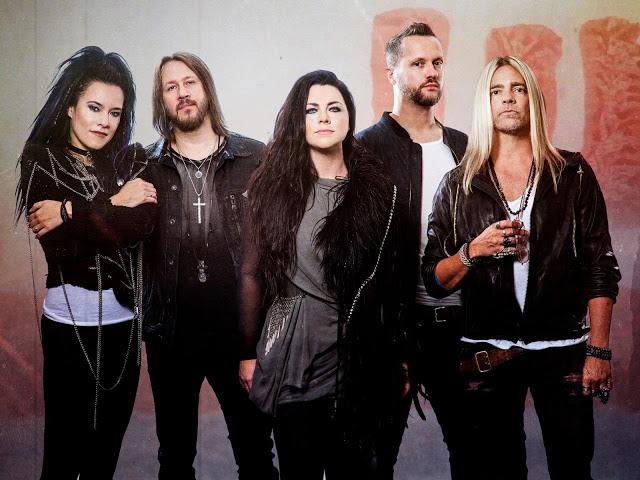 Evanescence fará um show online em outubro