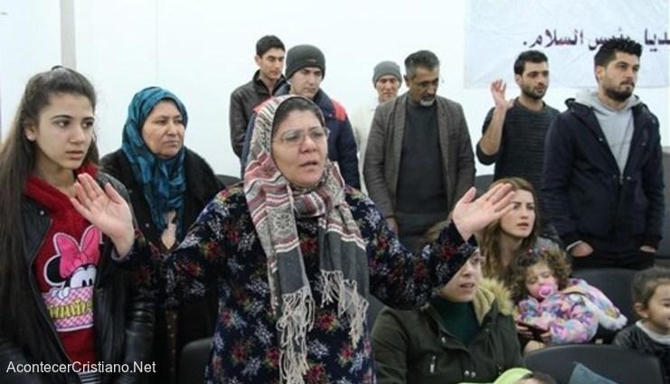 Musulmanes sirios convertidos al cristianismo