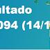Resultado Timemania - Concurso 1094 (14/10/17)