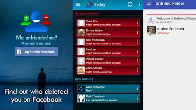 تطبيق رائع يمكنك من معرفة من قام بحذفك او حظرك على الفيسبوك جديد 2020