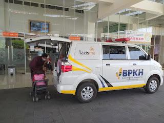 LAZISMU Jepara Kirim Ambulans Bantu RSU RA Kartini Jepara