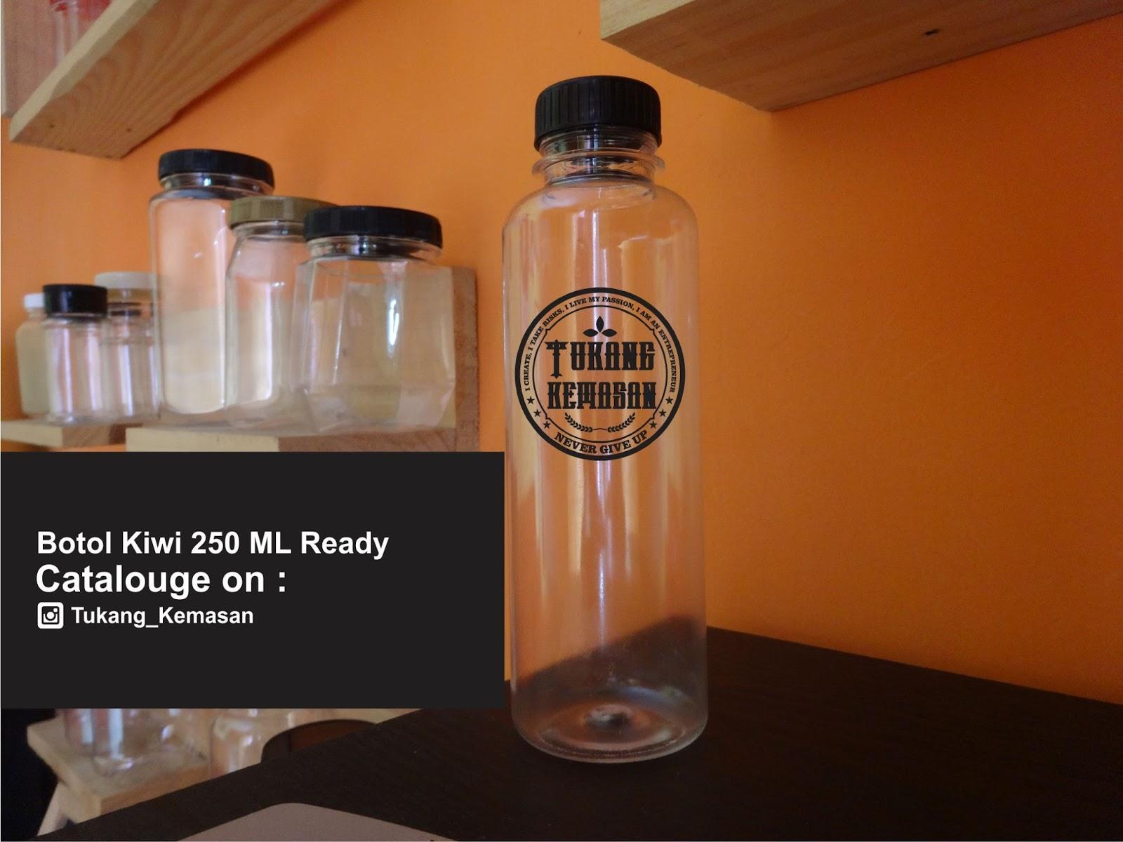 jual botol plastik PET 250 ml