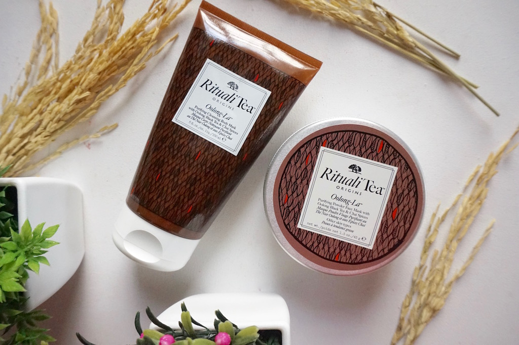 �ล�าร���หารู��า�สำหรั� Origins Rituali Tea Oolong-La Purifying Powder Face Mask