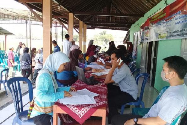 Dukcapil Klaten Berikan Pelayanan di Lokasi KBM