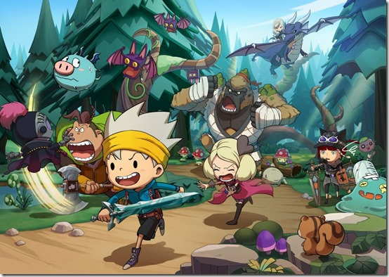 Game Snack World: The Dungeon Crawl Gold Untuk Switch