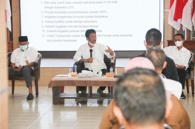 Walikota Batam Muhammad Rudi : PPKM Mikro Diperketat, Mall Tutup Lebih Awal