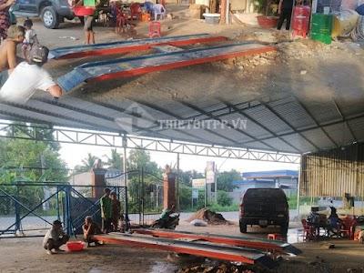 Cầu nâng 1 trụ rửa xe nổi - Giá thành tốt khi mua sản phẩm tại công ty