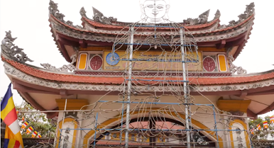 Visiting Temples during Lunar new year