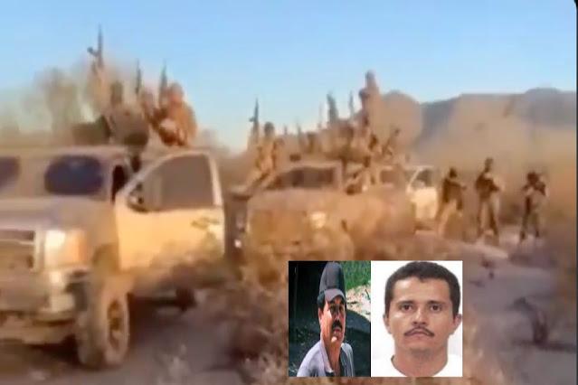 El Cártel de Sinaloa derrota al CJNG