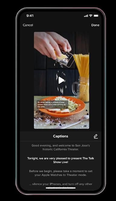 إضافة التسميات التوضيحية التلقائية على فيديوهات التيك توك 2021