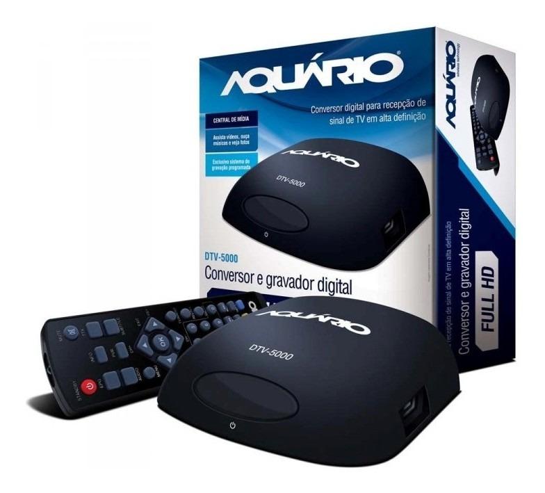 Conversor digital DTV-5000 Aquário