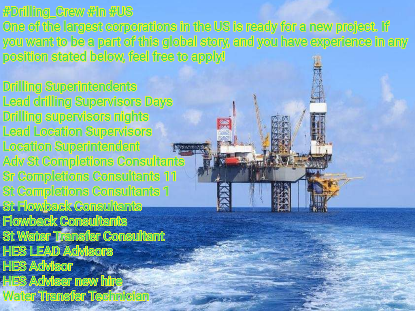 Oil and Gas Jobs: Drilling Crew