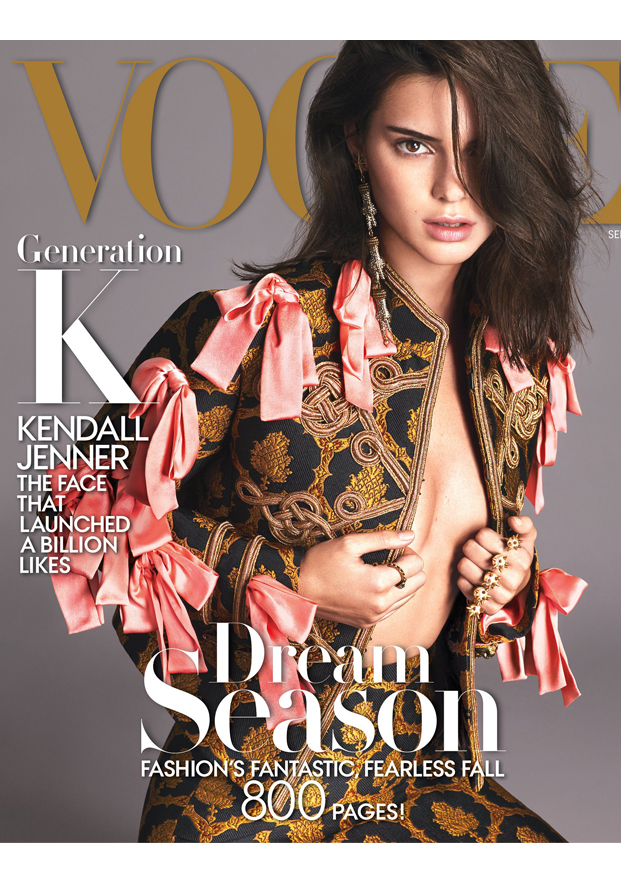 Kendall Jenner Vogue Cover 2016