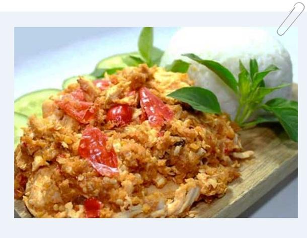 Ayam Geprek Istimewa sambal matha
