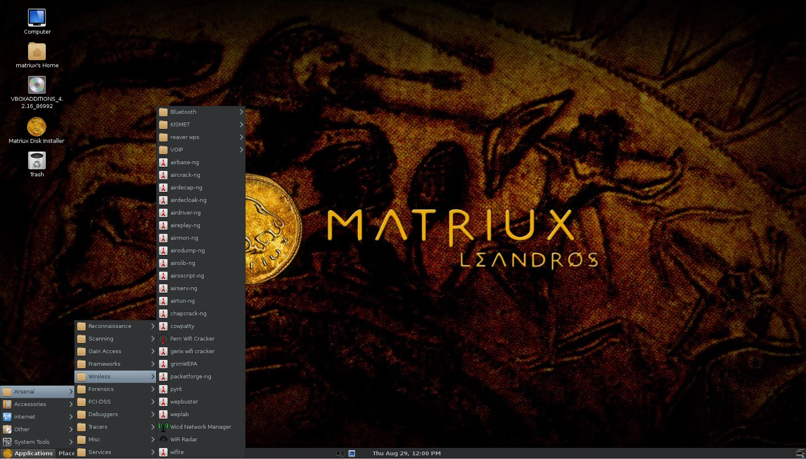 Matriux Snapshot