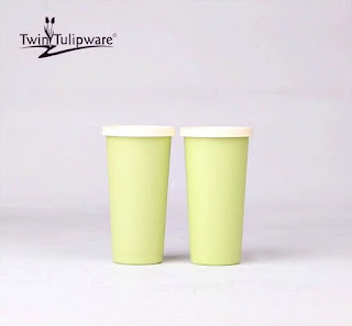 Big Tumbler (2) Twin Tulipware