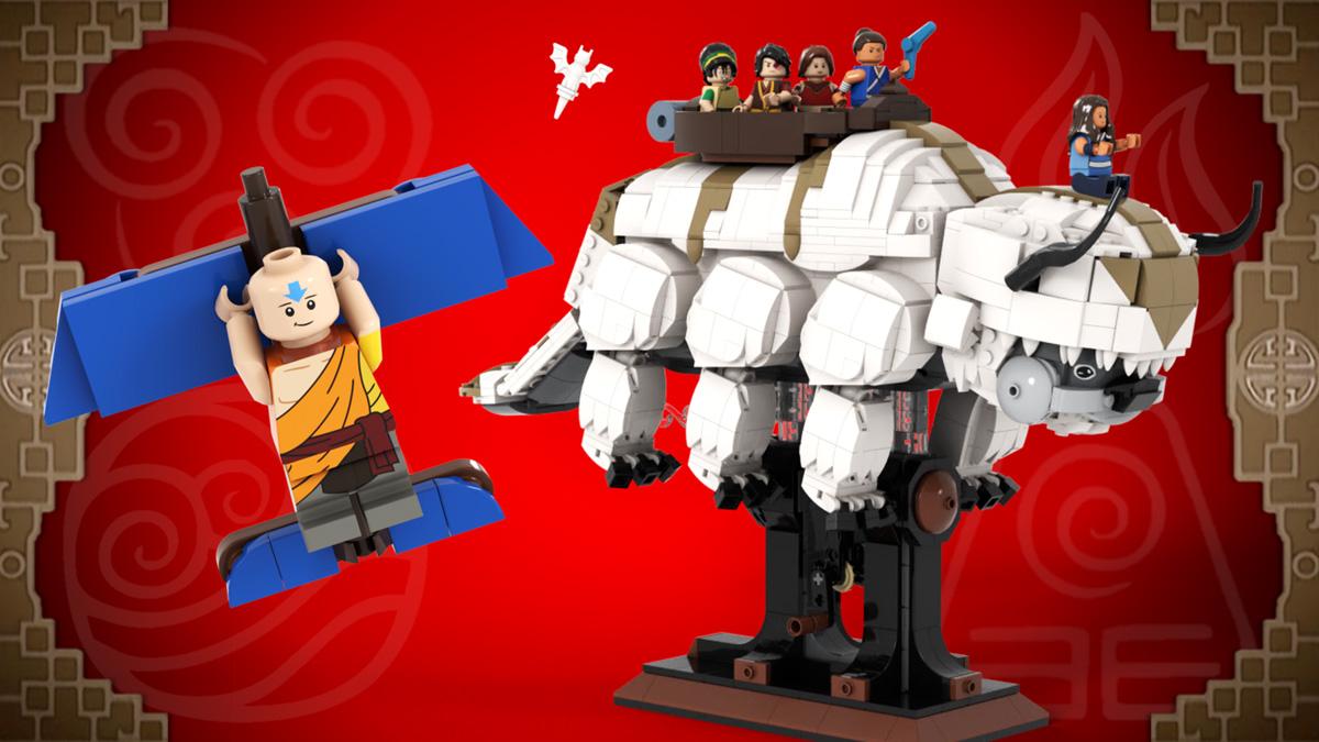 レゴアイデアで『アバター 伝説の少年アン』が製品化レビュー進出!2020年第3回1万サポート獲得デザイン紹介