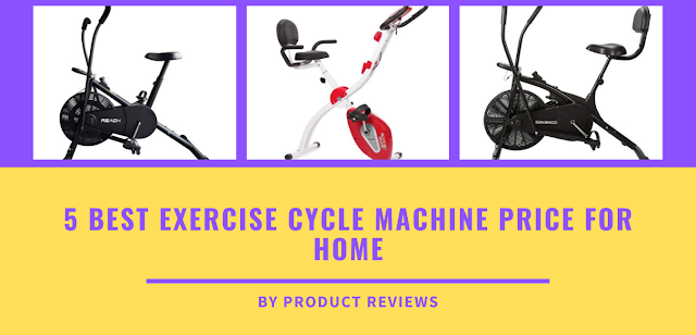 5 Best exercise cycle machine price for home, fitness, weight loss - stationary bike
