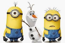Gambar Minions Frozen Lucu Olaf Boneka Salju
