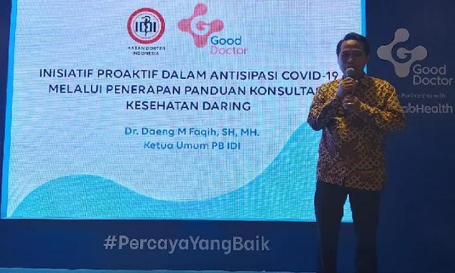 PB IDI: Minim APD, 23 Tenaga Kesehatan Terpapar Virus Corona