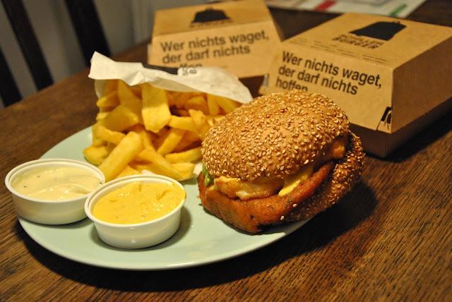 Schiller Burger in Berlin Friedrichshain mit Foodora.de bestellt