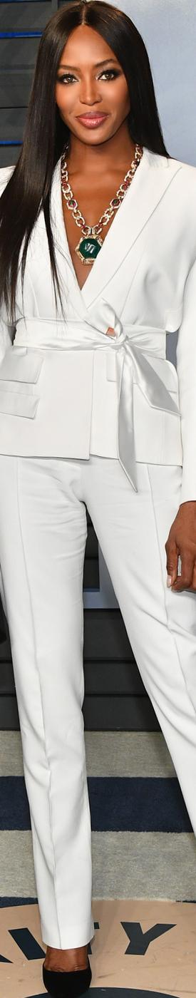Naomi Campbell 2018 Vanity Fair Oscar Party