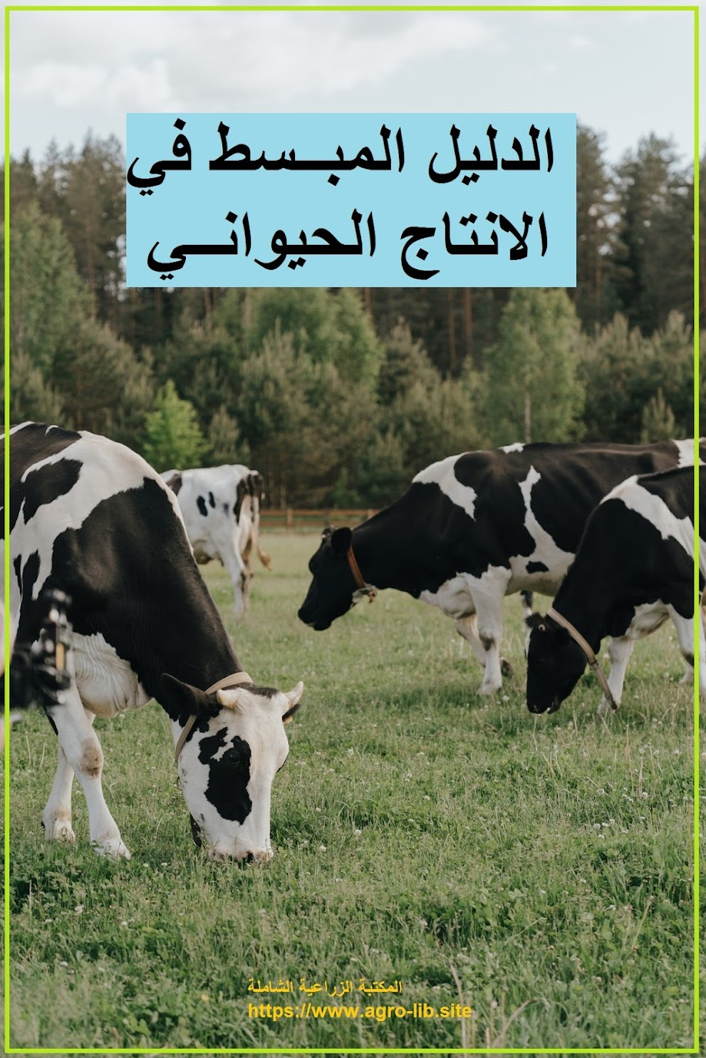 كتاب : الدليل المبسط في الانتاج الحيواني