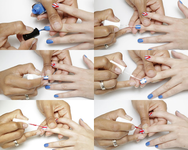2013 OLYMPIC+NAILS+HOW+TO