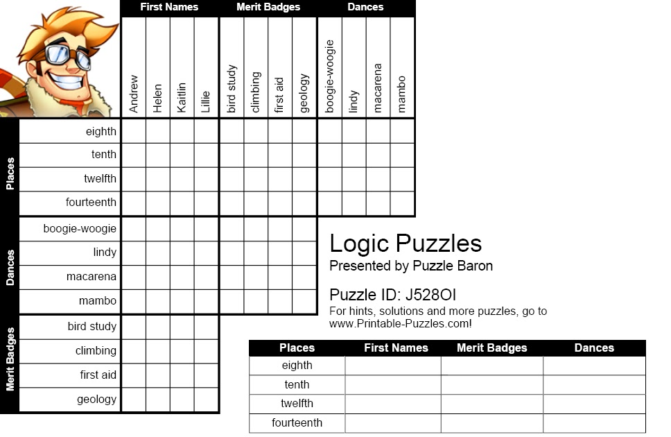 IH Milan Students' blog: Logic Puzzle No.4