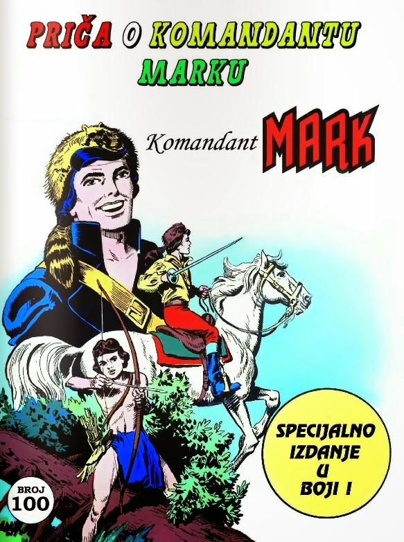 komandant mark stripovi
