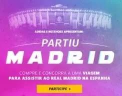 Cadastrar Promoção Netshoes Adidas Viagem Assistir Real Madrid Campeonato Espanhol 2019