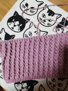 かぎ針キッズ向けネックウォーマーの編み方