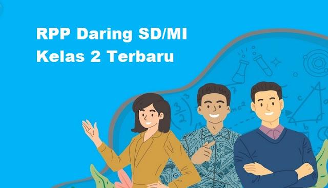 RPP Daring SD/MI Kelas 2 Terbaru