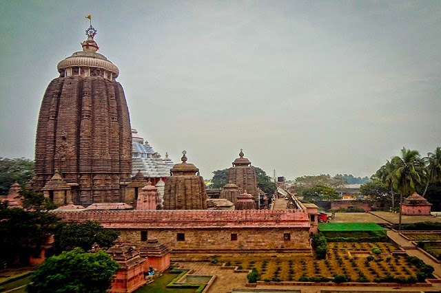 Shree Jagannath Temple in Puri, Orissa