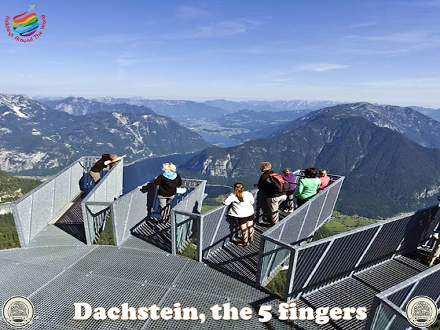 Going around Salzkammergut, Austria