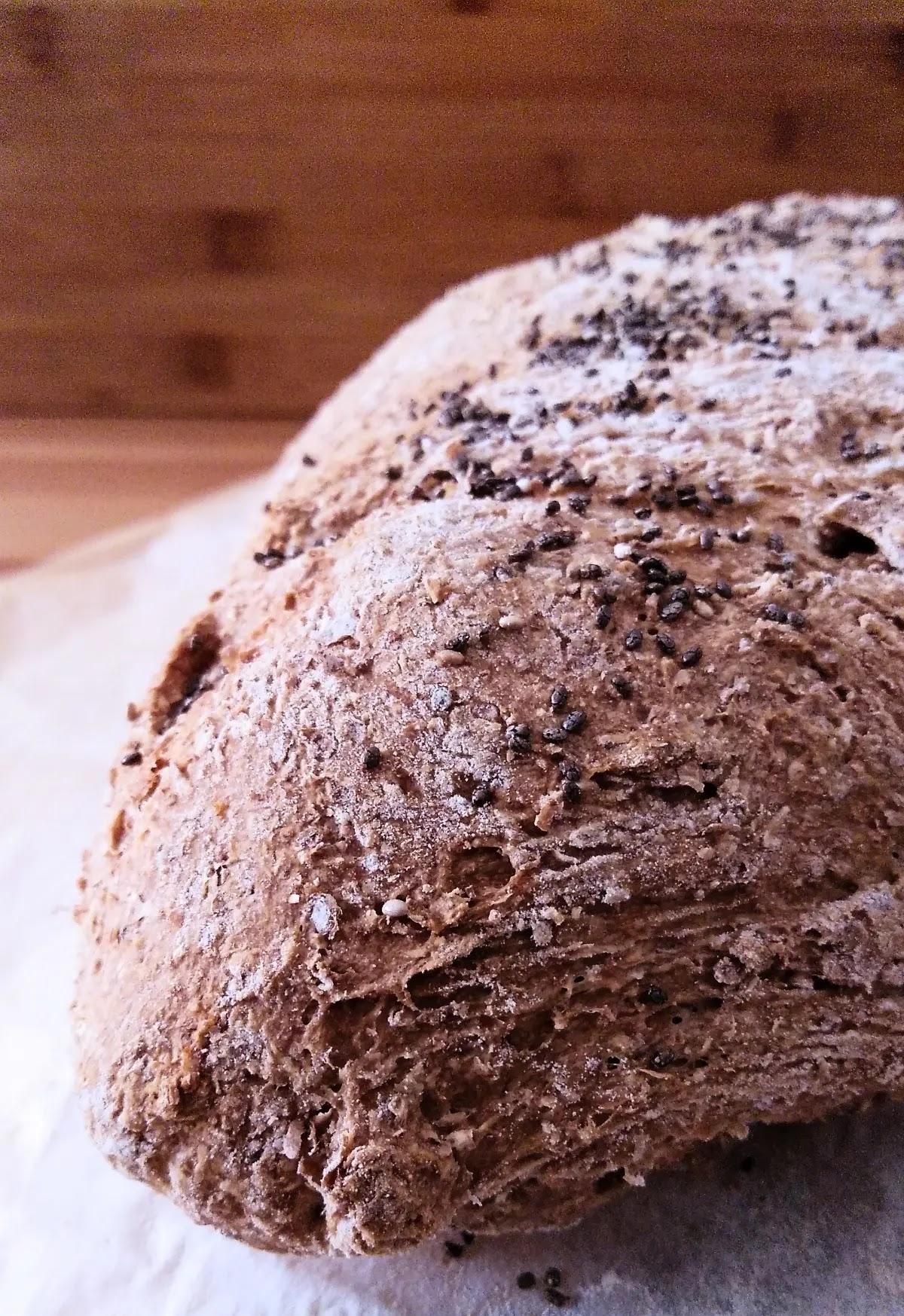 Receta de pan integral casero con panificadora y levadura fresca de panadería
