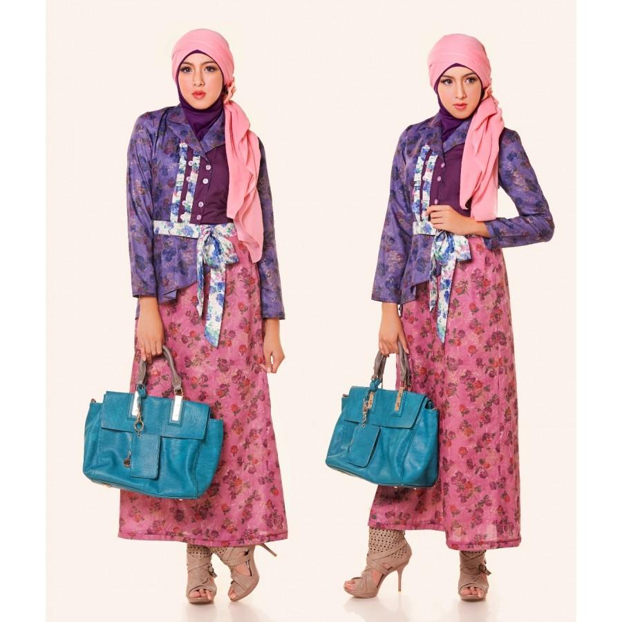 Model Baju Muslim Gamis Batik: 10 Model Baju Muslim Remaja 2016