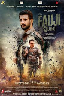 Fauji Calling First Look Poster 3