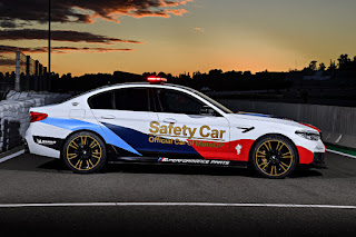 BMW M5 MotoGP Safety Car (2018) Side