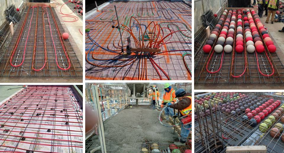00 Concrete Innovation Voided Biaxial Slab Slashes Weight Interior