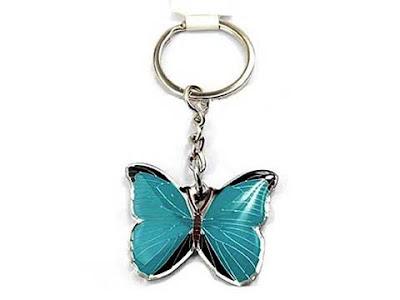 Un portachiavi a forma di farfalla: una tipica sorpresa degli anni '80