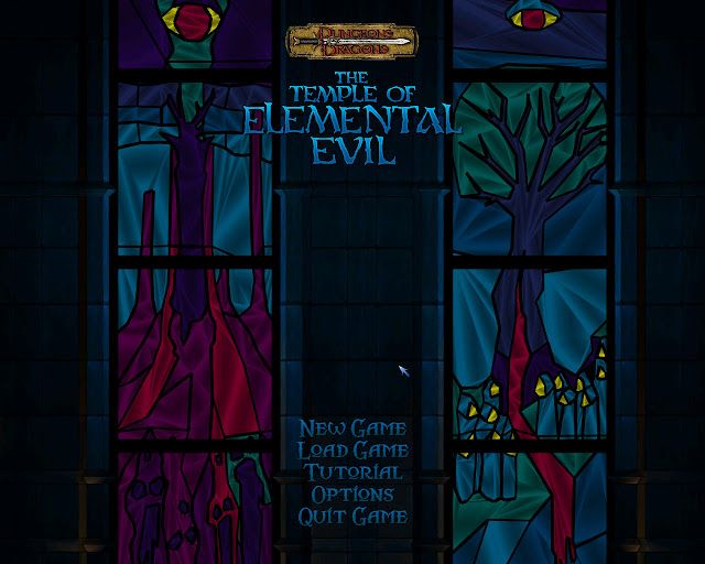 Temple of Elemental Evil Game Screenshots