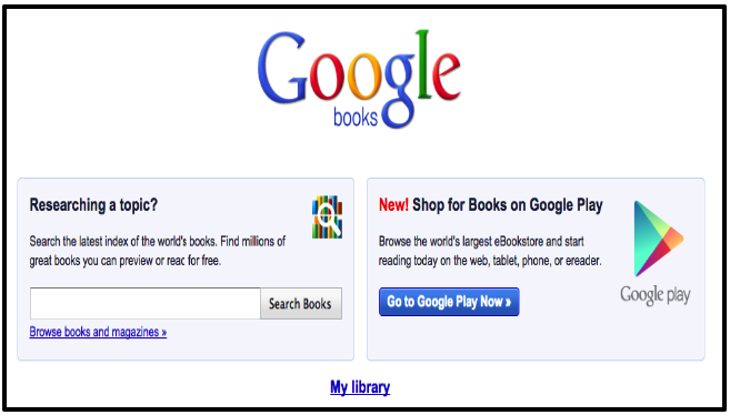 Everything Teachers Need to Know about Google Books | Educational
