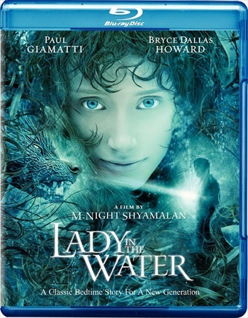 Lady In The Water 2006 Dual Audio Hindi 480p BRRip 300mb