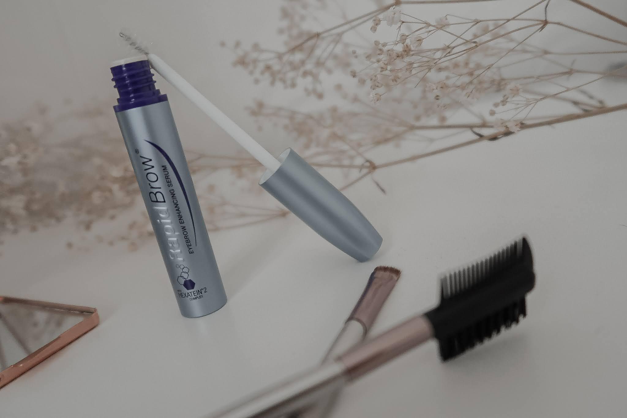 RapidBrow Eyebrow Enhancing Serum: A Review