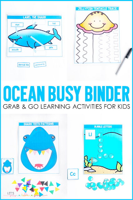 Ocean Themed Activities