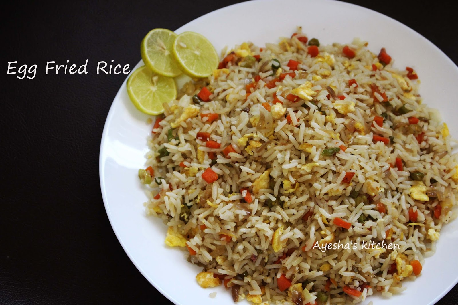 Egg fried rice recipe quick rice recipes hope you all like this egg fried rice recipe so here is the recipe showing how to make fried rice with egg ccuart Gallery