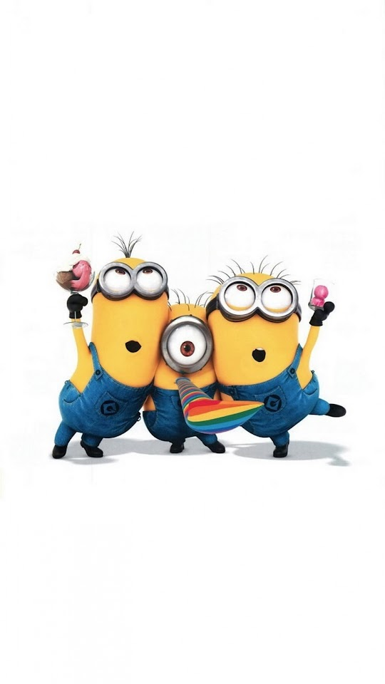 Funny Minions Party  Galaxy Note HD Wallpaper